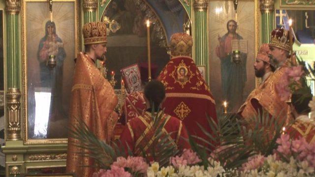 Віддання Пасхи в Троїцькому соборі