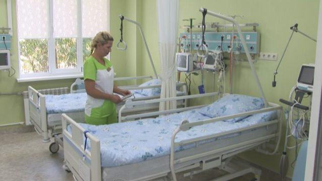 Відкриття модернізованого відділення інтенсивної терапії