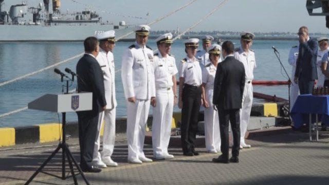 Привітання Президента. Урочистості на честь дня ВМС ЗСУ