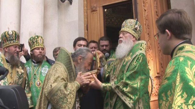 Блаженніший Онуфрій відвідав Одеську єпархію