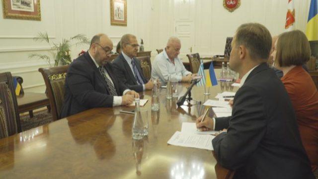 До Одеси завітав заступник міністра закордонних справ Греції
