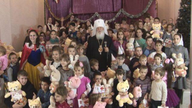 Дитяче свято в Успенській обителі