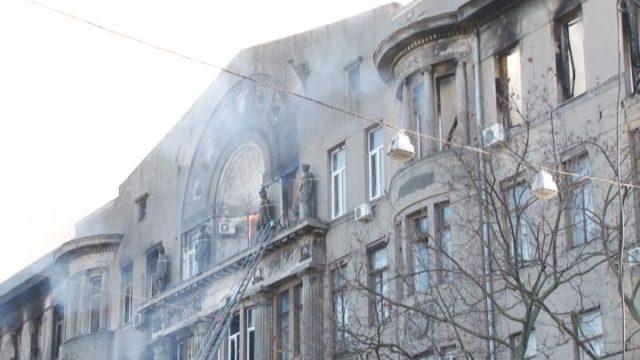 Пожежа на Троїцькій: число постраждалих росте