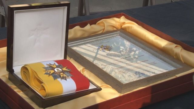 Мер нагородив Реву Орденом Маразлі