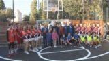 У школи №10 новий спортмайданчик