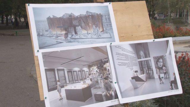 Проект благоустрою Прохоровського скверу
