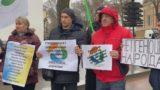 Під стінами Одеської мерії відбувся мітинг