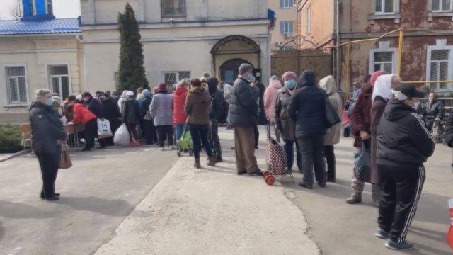 Одеська Єпархія. Допомога нужденним