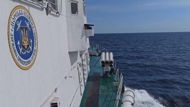 У Чорному морі США та Україна провели спільні навчання