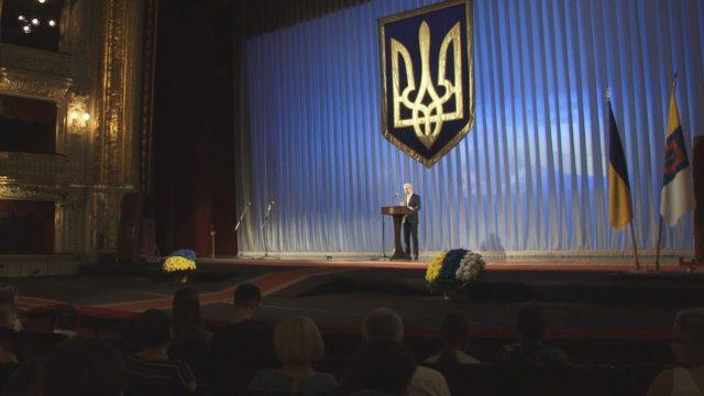 Відбулись святкові урочистості з нагоди святкування 25-Ї річниці Конституції України