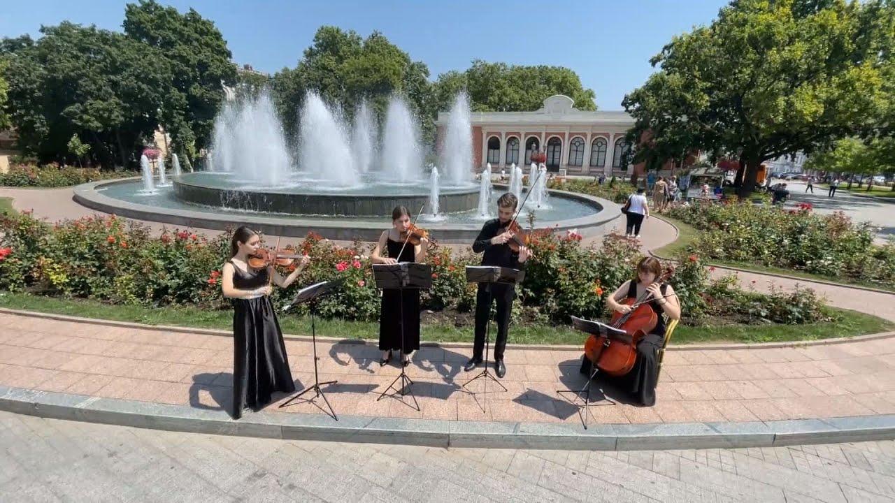 Королева оркестру — квартет юних одеських скрипалів
