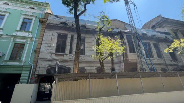 Будинок Гоголя: мер проінспектував стан робіт