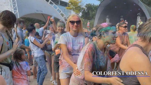 Щорічний фестиваль фарб ColorFest Odessa