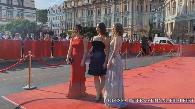ODESSA INTERNATIONAL FILM FEST. Червона доріжка 2021.