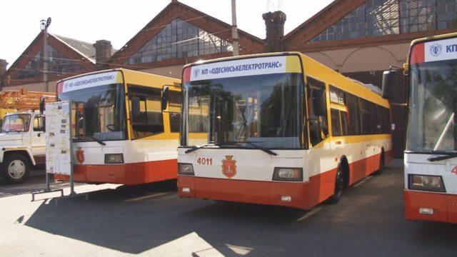Новий транспорт в Одесі