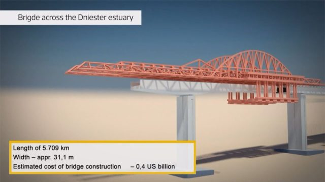Оdesa 5Т: Програма будівництва дороги Одеса-Рені