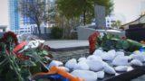 Церемонія вшанування пам'яті Жертв голокосту в Одесі 1941 року